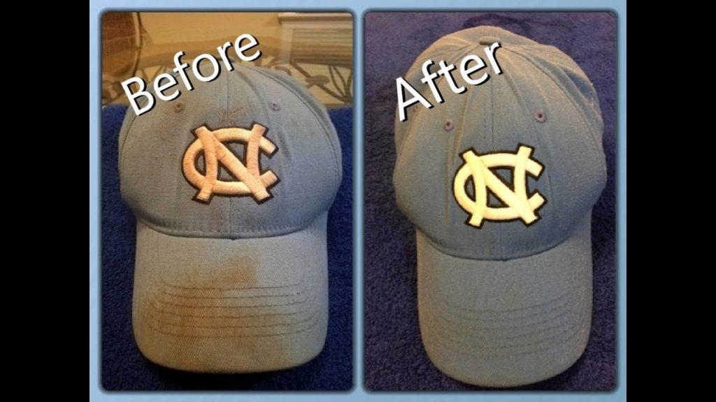 Wash a Baseball Cap