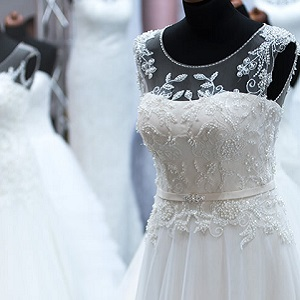wedding dresses cleaning
